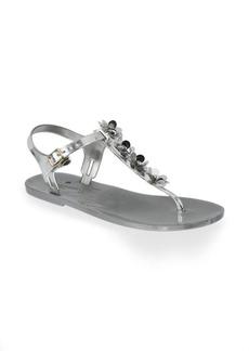 Kate Spade Farrah Metallic Leather Sandals