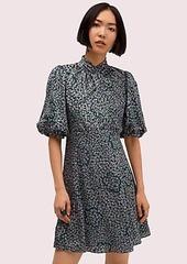 Kate Spade flair flora devoré mini dress