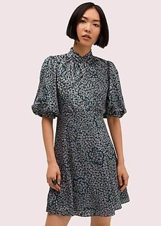 Kate Spade flair flora devoré mini dress