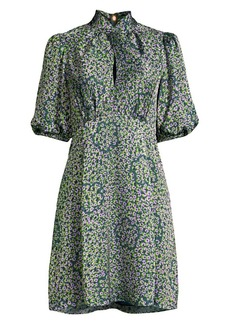 Kate Spade Flair Flora Devore Mini Dress