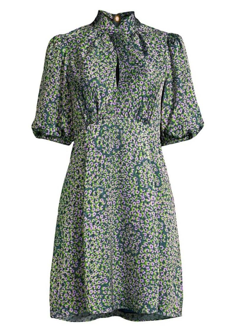 Kate Spade Flair Flora Devore Mini Dress