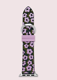 Kate Spade flair flora silicone 38/40mm apple watch® strap
