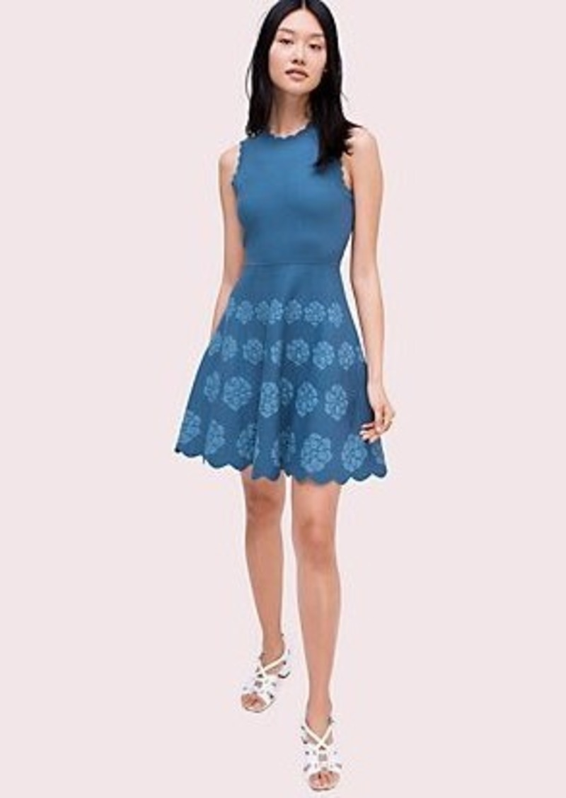 Kate Spade flora hem sweater dress