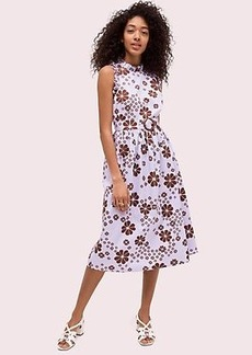 Kate Spade flora spade midi dress