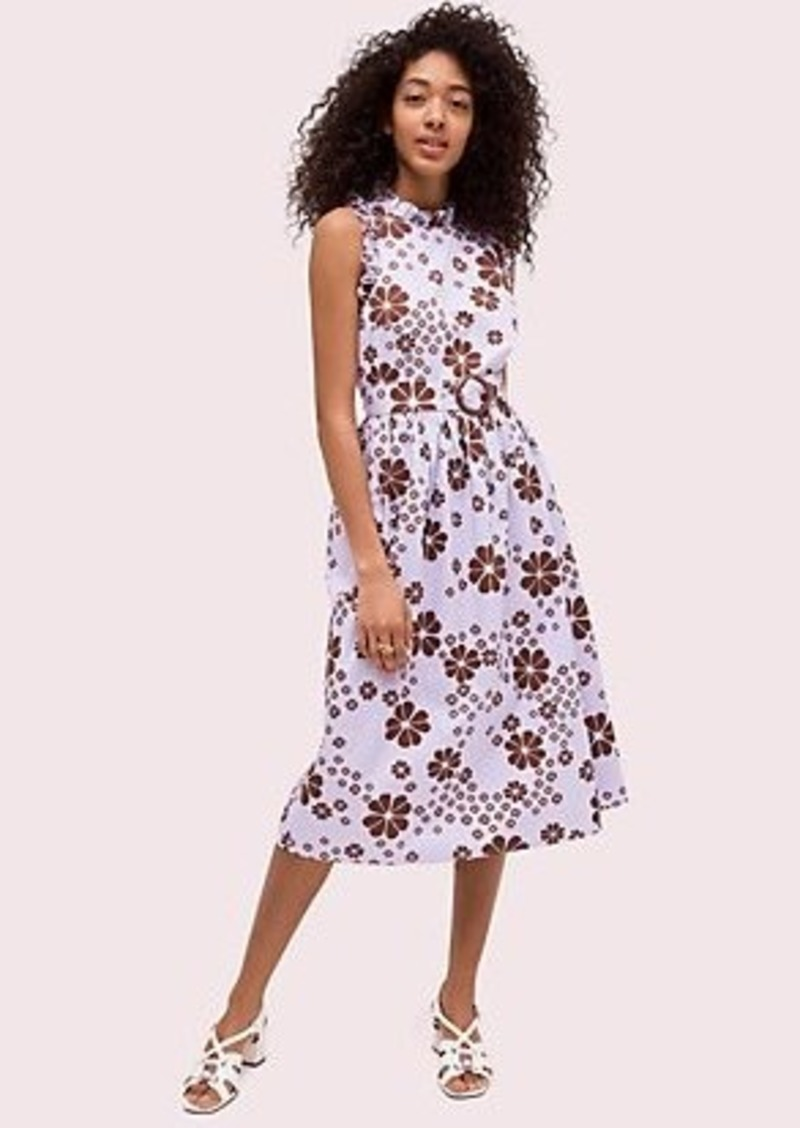 Kate Spade flora spade midi dress