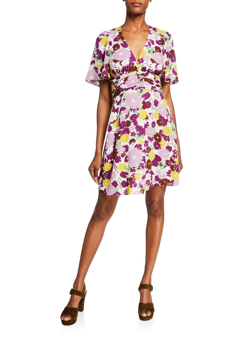Kate Spade flora swing dress