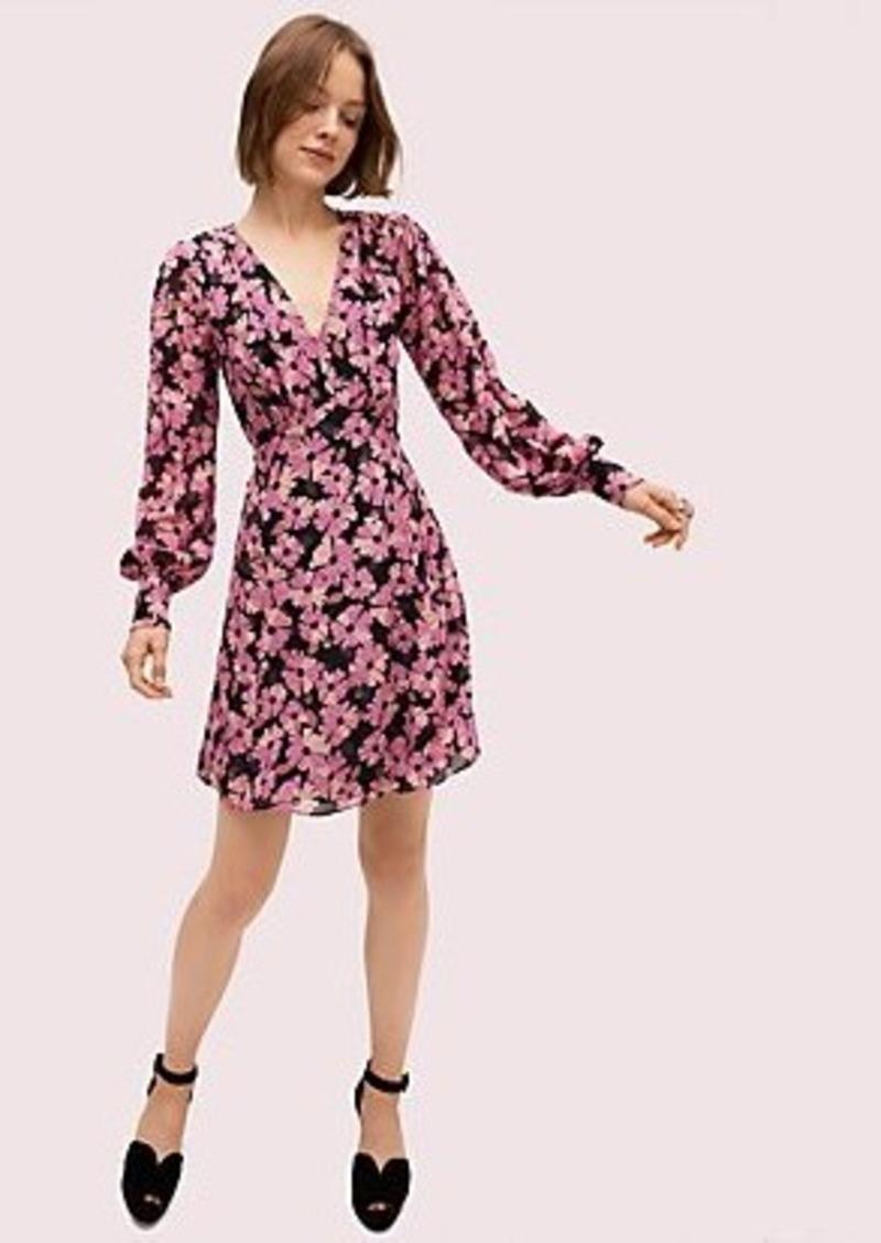 Kate Spade floral chiffon dress