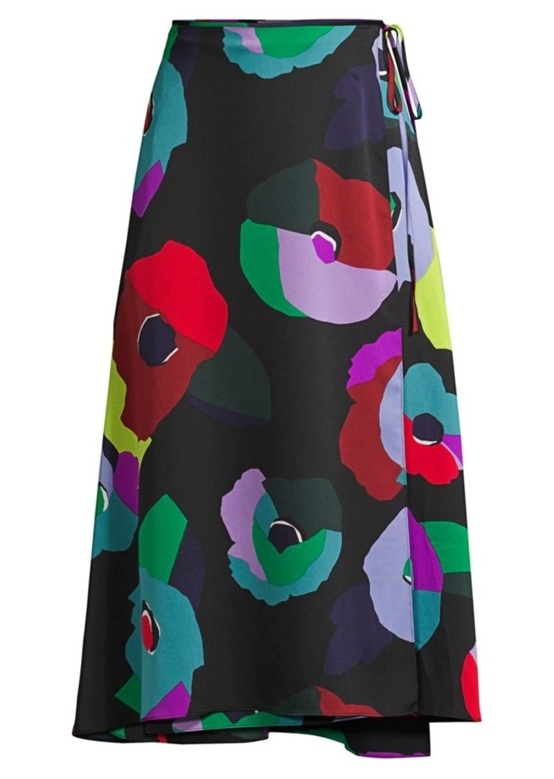 Kate Spade Floral Collage Skirt