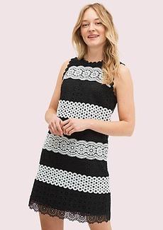 Kate Spade floral dot lace shift dress