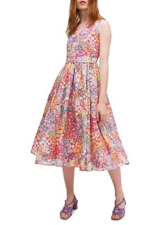 Kate Spade Floral Dots Burnout Dress