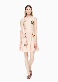 Kate Spade floral embroidered dress