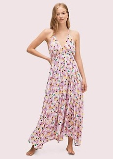 Kate Spade floral maxi dress cover-up