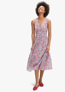 Kate Spade floral medley burnout dress