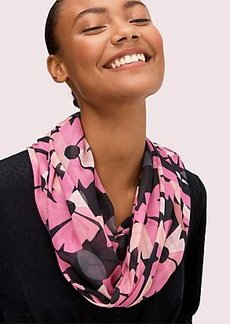 Kate Spade floral oblong scarf