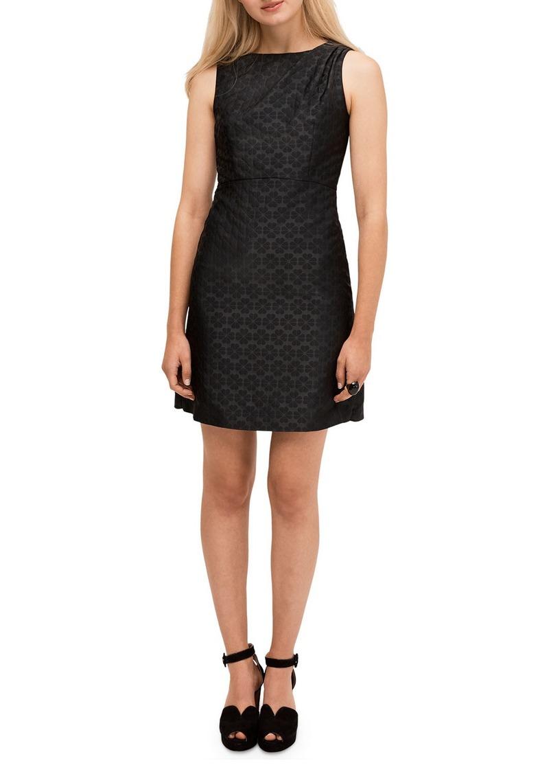 Kate Spade floral spade jacquard sleeveless dress