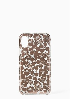 Kate Spade floret clear iphone x & xs case