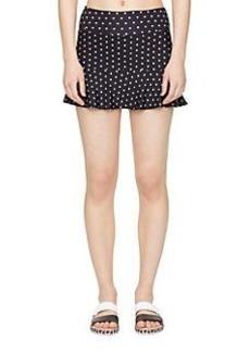 flounce peplum skirt