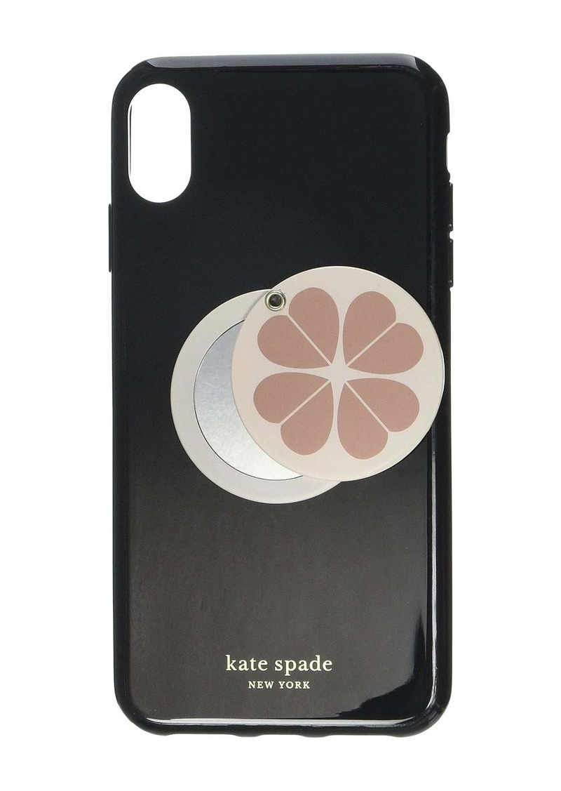 Kate Spade Flower Swivel Mirror Phone Case for iPhone XS Max