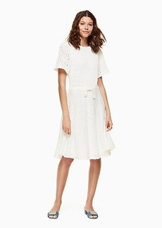 Kate Spade flutter sleeve sweater dress