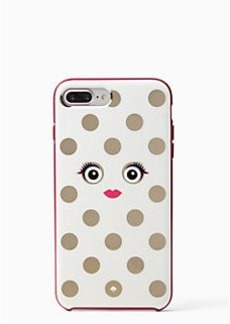 Kate Spade framed picture dot monster iphone 7 plus case