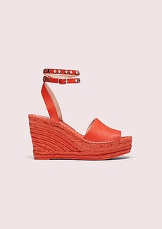 Kate Spade frenchy espadrille wedges