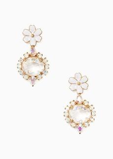 Kate Spade garden party drop earrings