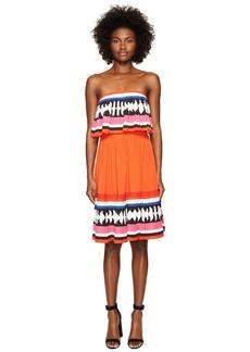Kate Spade Geo Border Pleated Dress