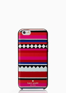 Kate Spade geo stripe iphone 6 case