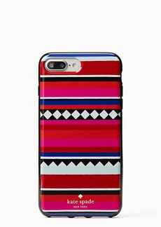 Kate Spade geo stripe iphone 7 plus case