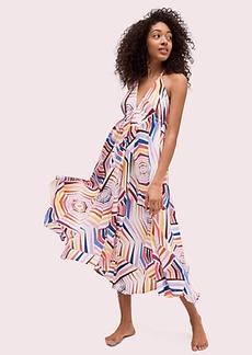 Kate Spade geobrella maxi dress cover-up