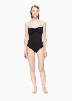 Kate Spade georgica beach bandeau one-piece swimsuit