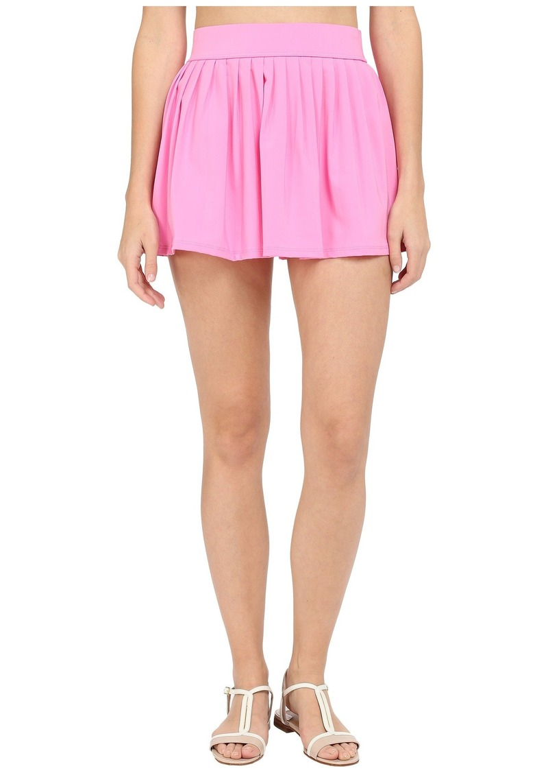 Kate Spade Georgica Beach Pleated Cover Up Skirt