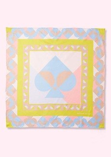 Kate Spade geospade silk scarf