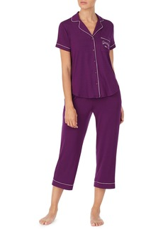 Kate Spade get comfortable short-sleeve crop pajama set