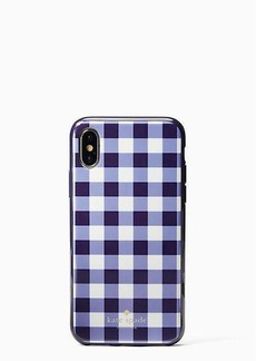 Kate Spade gingham iphone cases x case