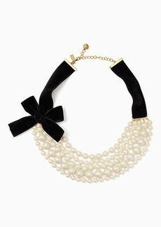 Kate Spade girls in pearls necklace