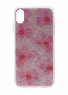Kate Spade Glitter Abstract Peony Phone Case for iPhone XS Max