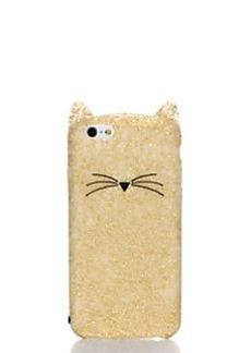 Kate Spade glitter cat iphone 6 case