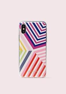 Kate Spade glitter geobrella iphone x & xs case