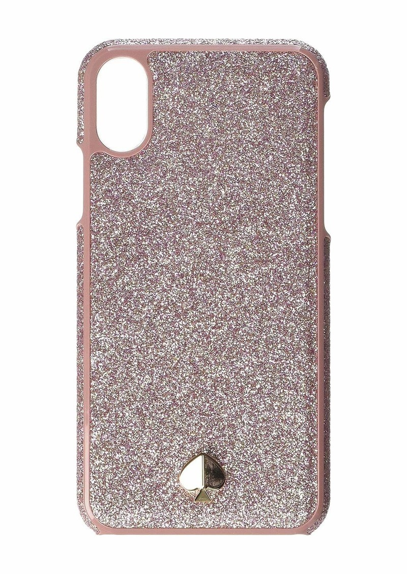 Kate Spade Glitter Inlay Phone Case for iPhone XS