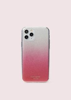 Kate Spade glitter ombré iphone 11 pro case