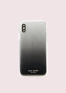 Kate Spade glitter ombré iphone xs case