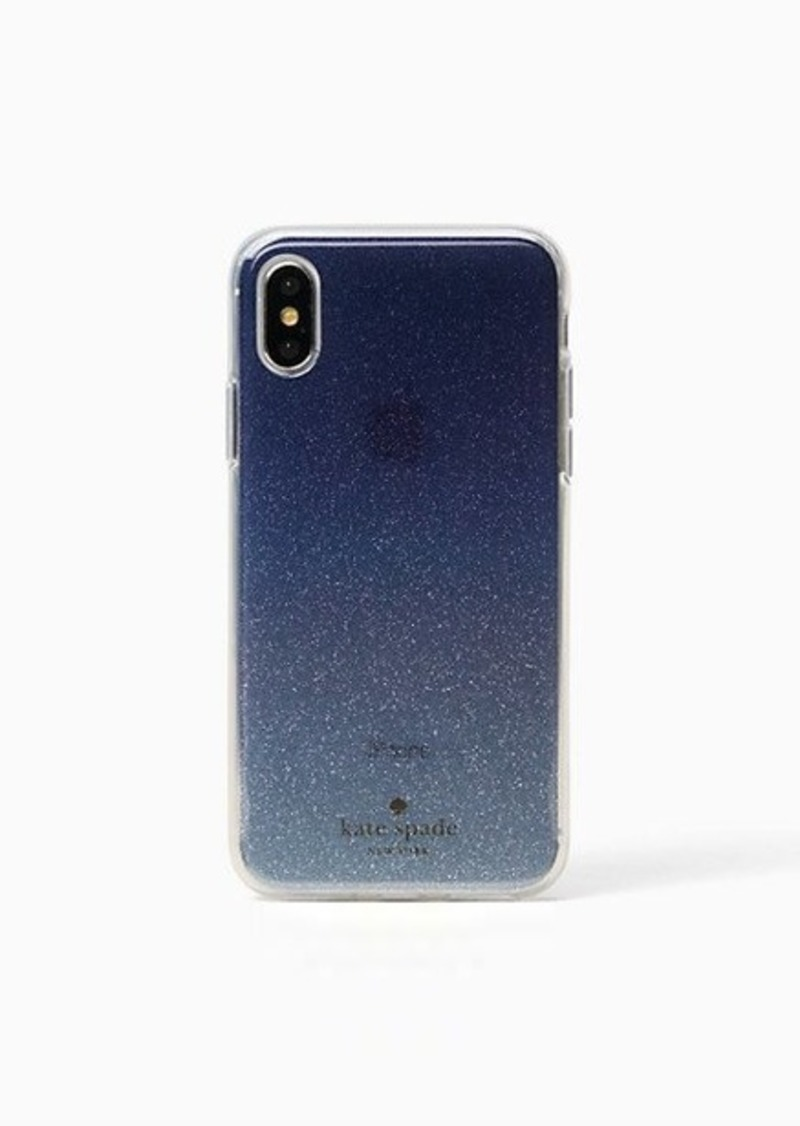 93b54b35ef9f Kate Spade glitter ombre iphone x & xs case | Misc Accessories