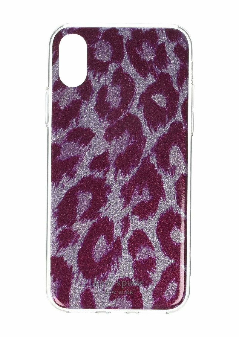 Kate Spade Glitter Panthera Phone Case for iPhone XS