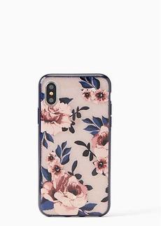 Kate Spade glitter prairie rose iphone x & xs case