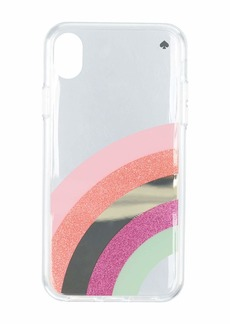 Kate Spade Glitter Rainbow Phone Case For iPhone XR