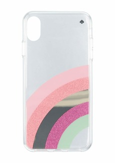 Kate Spade Glitter Rainbow Phone Case For iPhone XS Max