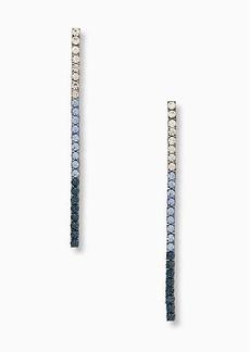 Kate Spade glitzville linear earrings