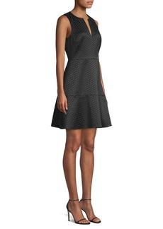 Kate Spade Glitzy Ritzy Bakery Dot Jacquard Dress