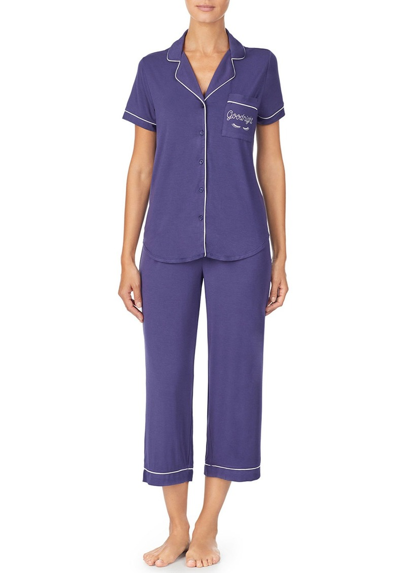 Kate Spade goodnight capri pajama set